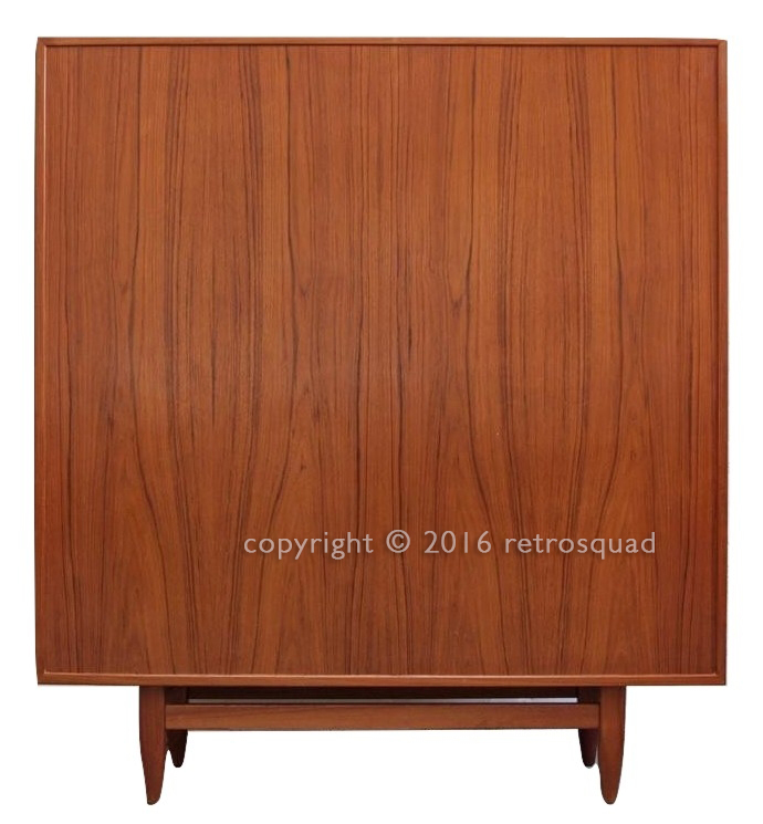 Teak Danish Modern Gentleman's Dresser By Svend A Madsen for Falster 11
